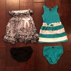 Set of two dresses